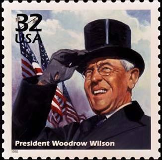 Thomas Woodrow Wilson ishte Presidenti i 28-të i Shteteve të Bashkuara të Amerikës. Wilson lindi në Staunton më 28 dhjetor 1856. - u2_woodrow-wilson